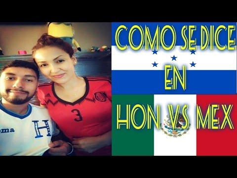 Como se dice en Honduras  VS  Mexico  //vlog #21//03-28-16