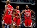 NBA Greatest Trios: Jordan, Pippen & Rodman vs Heat (1996)