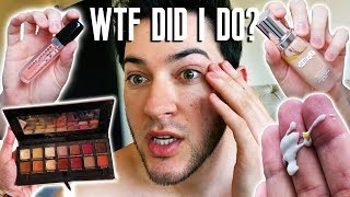 I USED ALL EXPIRED MAKEUP... this is what happened to my skin... by Manny Mua