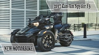 3. Can Am Spyder F3 Limited Review and Price 2017