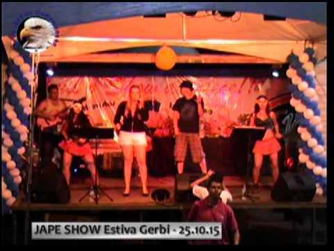 4 JAPE SHOW ESTIVA GERBI   251015   SHOW com a Banda MUSIC MANIA