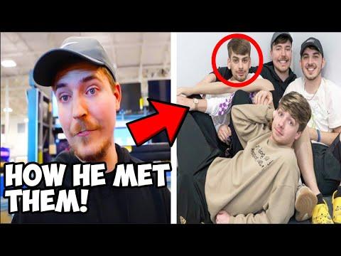 This is How MrBeast Met Chandler, Karl and Chris..