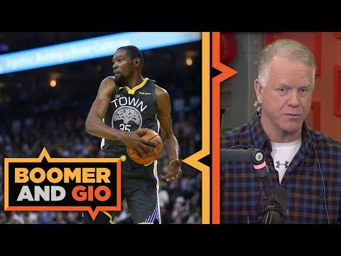 Video: KD responds to KNICKS rumor | Boomer and Gio