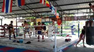 Muay Thai Kick Boxing Camp, Koh Phangan, Thailand