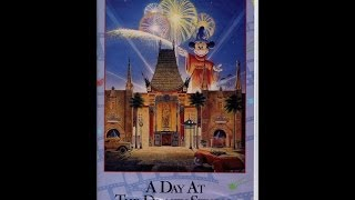 A Day At The Disney Studios VHS 1995