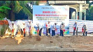 Khởi công công trình mở rộng, nâng cấp tuyến đường khu Phú Thanh Đông, phường Yên Thanh