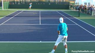 Tennis Highlights, Video - Rafael Nadal Forehands from the Back in HD