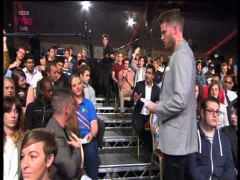 Freespeech - Part of the FreeSpeech debate about racism where EDL leader Tommy Robinson has a lively debate with presenter Saira Khan and musician Akala aswell as the aud...