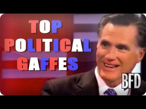 Top 5 Worst Political Gaffes   Brain Food Daily   TakePart TV