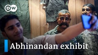 Pakistan Air Force displays mannequin of downed Indian pilot   DW News