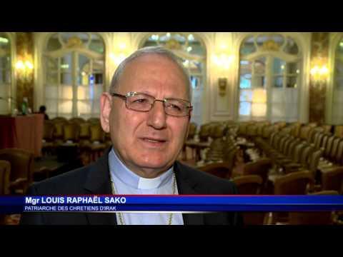 Monseigneur Louis Raphaël Sako invité de la Monaco Mediterranee Foundation