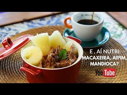E, AÍ NUTRI: MACAXEIRA, AIPIM, MANDIOCA... I NUTRICIONISTA PRISCILA RIBEIRO #vemcomanutri