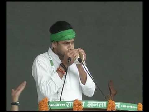लालू के अंदाज में तेज प्रताप का ये भाषण सच में आपको हैरान कर देगा//RJD anti-BJP Patna rally - tandy ...