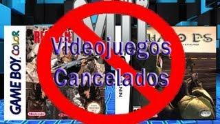 Videojuegos que estuvimos a punto de jugar pero que por algun motivo no salieron a la venta al publico, la mayoria dariamos lo que fuera por poder jugarlosResident Evil Gameboy Colorhttp://www.youtube.com/watch?v=ShC8zJgbTtsHalo dshttp://www.youtube.com/watch?v=kmoND4u63fgMario 128http://www.youtube.com/watch?v=fgtFXXzE8bk