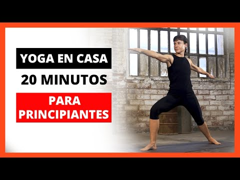 20 MINUTOS DE YOGA PARA PRINCIPANTES – POSTURAS DE YOGA BÁSICAS