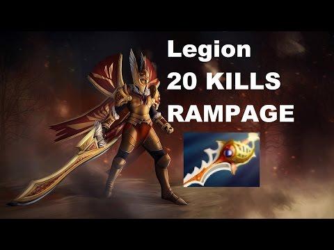 Dota 2 Legion Ranked MMR 20 Kills 1000 DMG