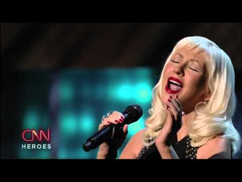 Christina Aguilera - Beautiful [Live] (CNN Heroes) High Definition