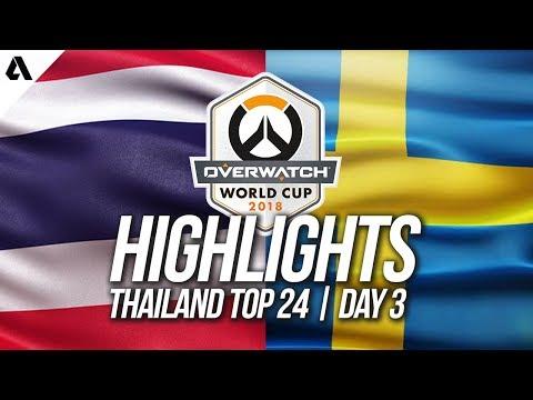 Thailand vs Sweden | Overwatch World Cup 2018 Thailand Qualifier Day 3