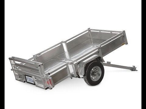 Foldable trailer Apoge