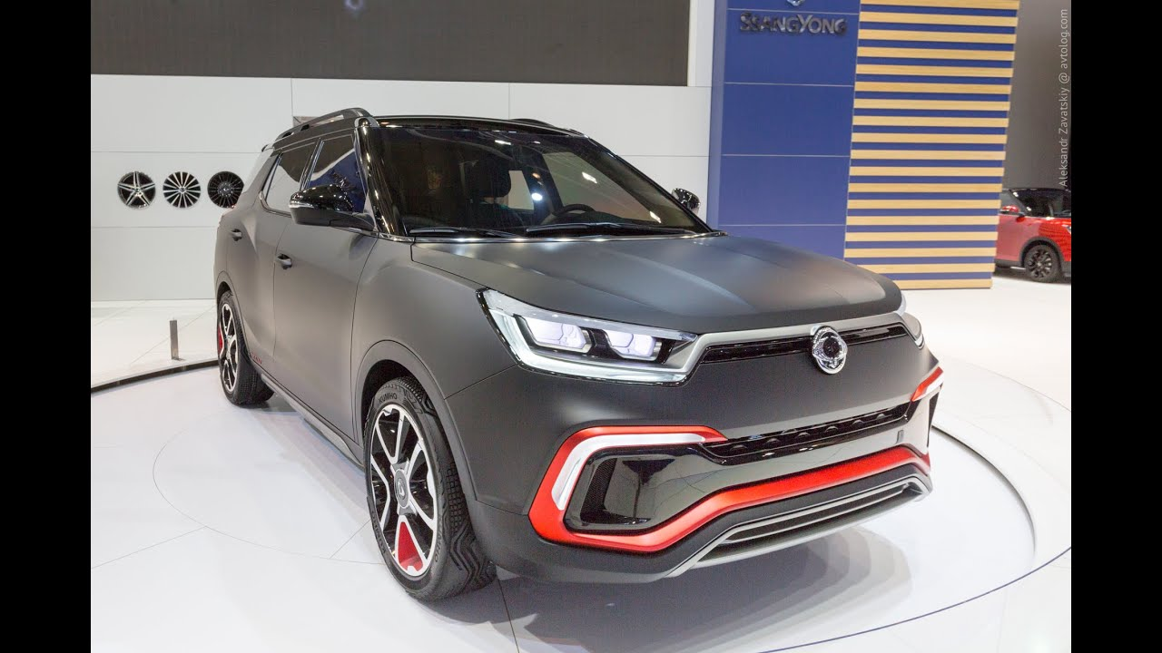 2015 SsangYong XLV Concept: Франкфурт 2015