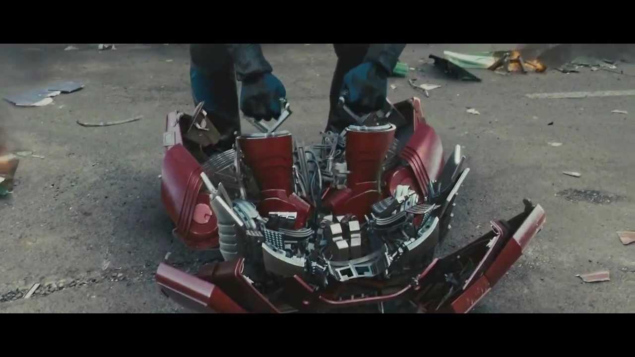 Сборка и разборка костюма Железного человека