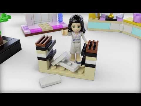 Lego Friends | 41002 | Emmas Karate Class | Lego 3D Review