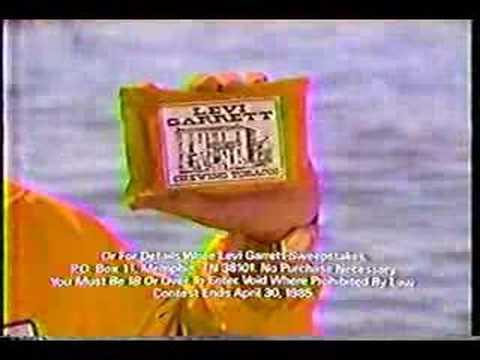 1985 Levi Garrett Commercial