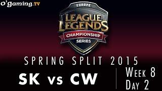 LCS EU Spring 2015 - W8D2 - SK vs CW