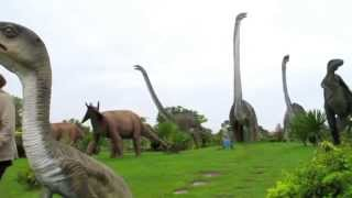 Kalasin Thailand  city photos gallery : Dinosaur Park, Kalasin, Thailand HD720p