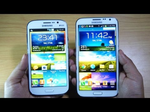 Samsung GALAXY GRAND DUOS vs GALAXY NOTE 2 – Review by Gadgets Portal