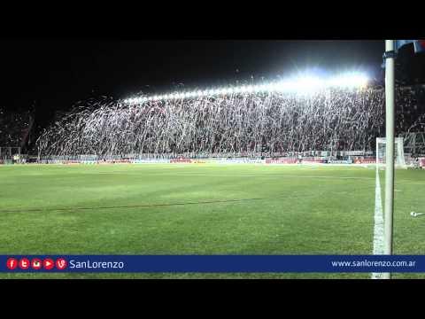 Recopa Sudamericana | San Lorenzo vs. River | Impresionante recibimiento - La Gloriosa Butteler - San Lorenzo - Argentina - América del Sur
