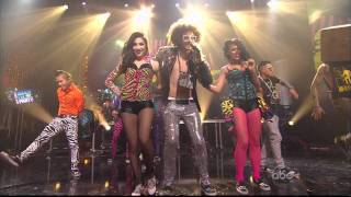 LMFAO - Sexy And I Know It [Dick Clark's New Year's Rockin' Eve] 2011