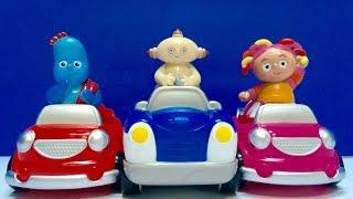 IN THE NIGHT GARDEN Toys Ride Disney Junior Cars!