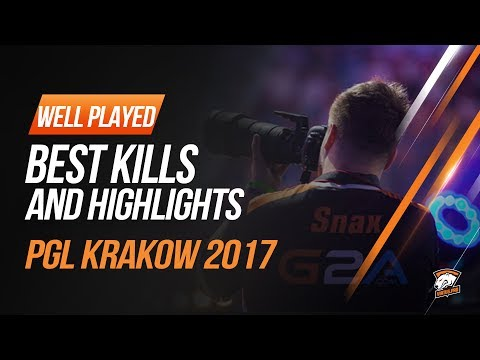 Virtus.pro highlights at PGL Major Kraków 2017