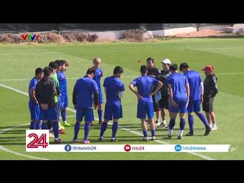 ĐT Việt Nam chuẩn bị cho trận đấu gặp ĐT Iran Asian Cup 2019 vào ngày 12/1 @ vcloz.com