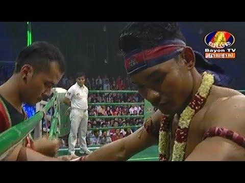 Phal Sophorn vs Angkamlek(thai), Khmer Boxing Bayon 11 Feb 2018, Kun Khmer vs Muay Thai