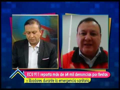 ECU 911 reporta más de 64 mil denuncias por fiestas y libadores durante la emergencia sanitaria