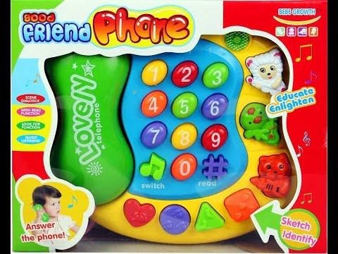 Good Friend Baby Phone Play Set With Music, Voice & Learning Functions