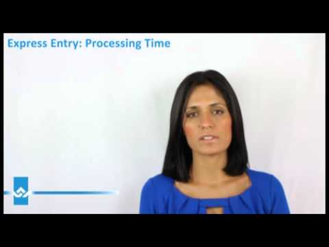 Express Entry Processing Time Video