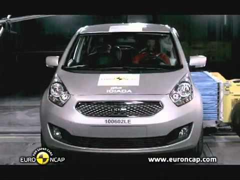 Kia Venga Краш-тест - Kia Venga 2010 (E-NCAP)