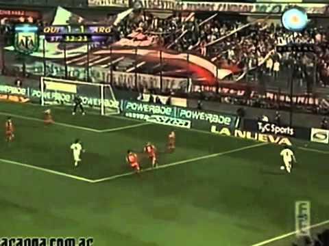 Gol de Juan Jose Morales jugando para Quilmes