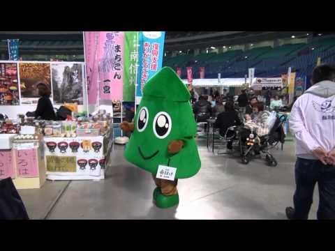 【ゆるキャラ】秋田県のスギッチinナゴヤドーム