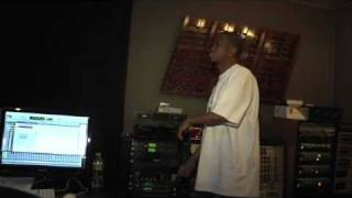 Chamillionaire with Famous in Studio