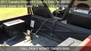 3. 2011 Yamaha Rhino  4X4 Side By Side  for sale in Acme, PA 15