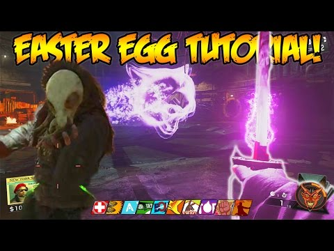 SHAOLIN SHUFFLE - FULL EASTER EGG TUTORIAL GAMEPLAY WALKTHROUGH (INFINITE WARFARE ZOMBIES)