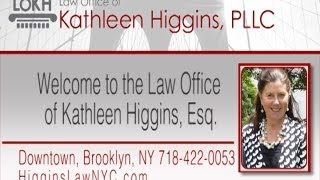 Kathleen Higgins, Lawyer