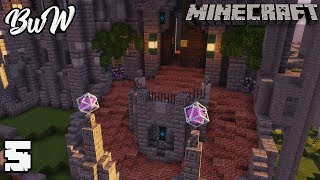Let's Build a Castle #5 CASTLE GRAND ENTRANCE : MINECRAFT 1.13.2 Survival Let's Play 161