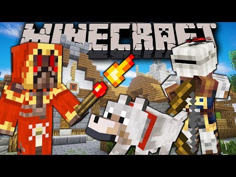 Minecraft: Wolves & Wizards Labyrinth Adventure Server Sordrin's Trap Maze Public Multiplayer Ep. 3
