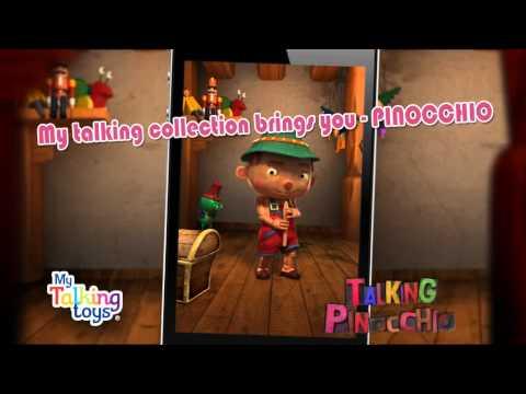 Video of Talking Pinocchio Pro
