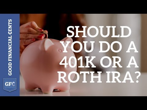 401K - http://www.goodfinancialcents.com/dollars-and-cents-401k-vs-roth-ira-showdown/ Do you believe taxes are going up? The reader that asked me whether she should...